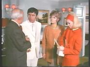 Carol Latimer (Alexandra Bastedo with Charles Lloyd Pack Kenneth Cope and Annette Andre) 3
