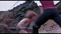 Mileena Attacking Sonya Annihilation