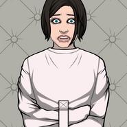 Ophelia Lincoln straitjacket