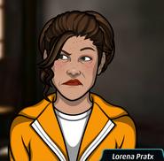 Lorena Pratx prison uniform