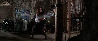 Fatima Blush (played by Barbara Carrera) Never Say Never Again 190-0