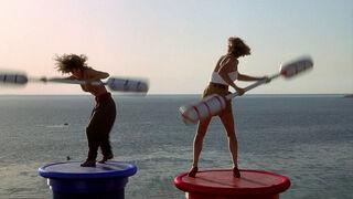 Michelle Rodham Huddleston (played by Brenda Bakke) Hot Shots 2 123
