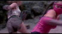 Sonya kicks Mileena (2) Annihilation