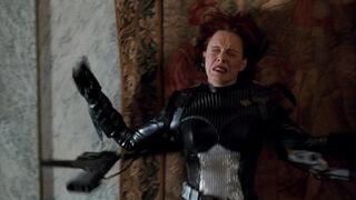 Jessica Priest in Spawn (played by Melinda Clarke) 110