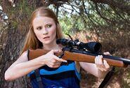 Kate Randall shotgun