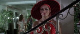 Fatima Blush (played by Barbara Carrera) Never Say Never Again 129-0