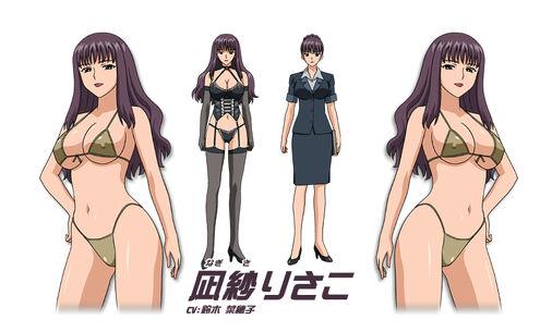 Risako Nagisa (voiced by Tara Platt) Aika R-16 Virgin Mission 00