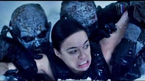 Resident Evil 5 Retribution - Bad Rain Ocampo Death Scene (Michelle Rodriguez)