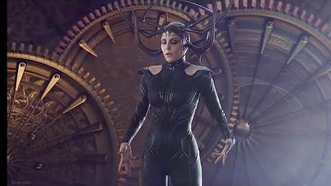 Hela Arrives in Asgard Scene From Thor Ragnarok(2017) -- 4K Ultra Video Clip