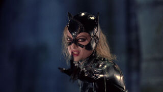 Selina Kyle-Catwoman (played by Michelle Pfeiffer) Batman Returns 157