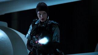 Jessica Priest in Spawn (played by Melinda Clarke) 21