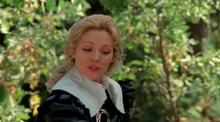 Justine de Winter (played by Kim Cattrall) The Return of the Musketeers 164