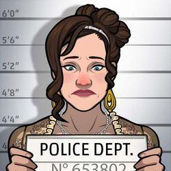 Lizzie Dion mugshot