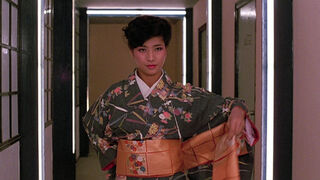 The Japanese Fighter in My Lucky Stars (played by Michiko Nishikawa) 71