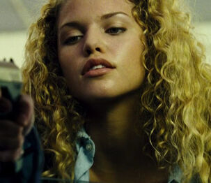 Car Jacking Girl (played by Annalynne McCord) The Transporter 2