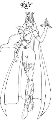 Lady Kale BW