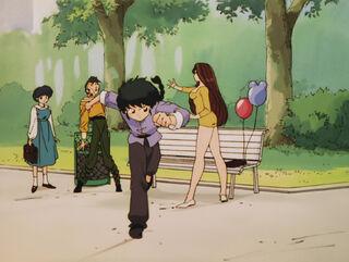 Hinako Ninomiya (voiced by Yumi Touma) Ranma 1-2 Oav 04 30