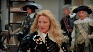 Justine de Winter (played by Kim Cattrall) The Return of the Musketeers 873