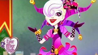 Ever After High Whats in the Cards for Courtly Jester Way Too Wonderland Compilation