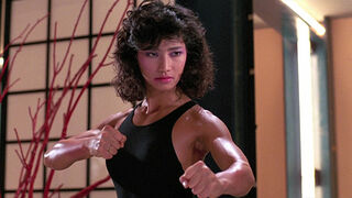 The Japanese Fighter in My Lucky Stars (played by Michiko Nishikawa) 405