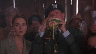 Michelle Rodham Huddleston (played by Brenda Bakke) Hot Shots 2 08