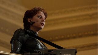 Jessica Priest in Spawn (played by Melinda Clarke) 96