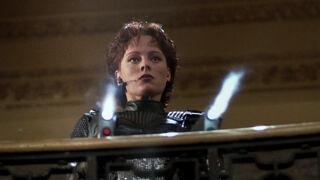 Jessica Priest in Spawn (played by Melinda Clarke) 87