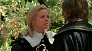 Justine de Winter (played by Kim Cattrall) The Return of the Musketeers 364
