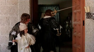 Justine de Winter (played by Kim Cattrall) The Return of the Musketeers 2470