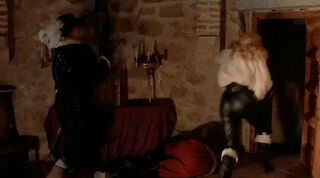 Justine de Winter (played by Kim Cattrall) The Return of the Musketeers 1998