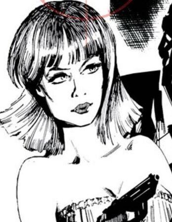 Marigold. James Bond story henchwoman
