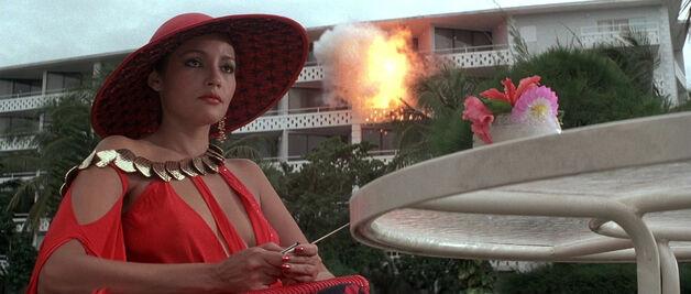 Fatima Blush (played by Barbara Carrera) Never Say Never Again 133-0