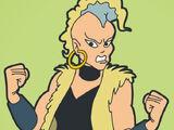 Mad Maxine Ryder (Hulk Hogan's Rock 'N' Wrestling)