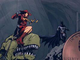 Carmen and Batman