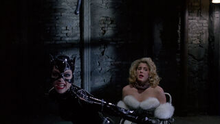 Selina Kyle-Catwoman (played by Michelle Pfeiffer) Batman Returns 109