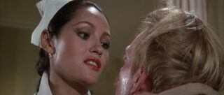 Fatima Blush (played by Barbara Carrera) Never Say Never Again 22-0