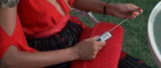 Fatima Blush (played by Barbara Carrera) Never Say Never Again 131-0