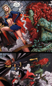 Kicked by Batgirl