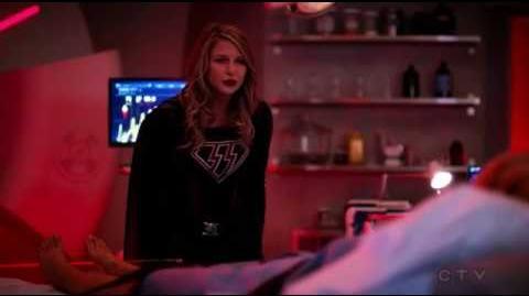 The Flash 4x08 Overgirl vs Supergirl Argument Scene