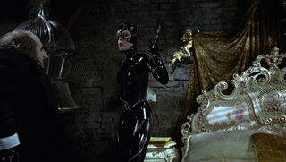 Selina Kyle-Catwoman (played by Michelle Pfeiffer) Batman Returns 89