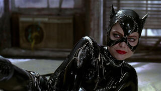 Selina Kyle-Catwoman (played by Michelle Pfeiffer) Batman Returns 84
