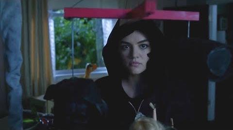 "Pretty Little Liars - Aria as A - 7x16 ""The Glove That Rocks the Cradle"""