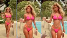 Ms Shepard Pink Bikini 01 Intro