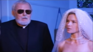 Jennifer Hodgsons with Father Lawrence