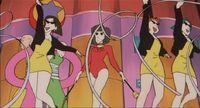 Majo Hostess Corps Shin Chan Balls Of Darkness 31