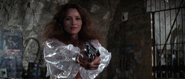 Fatima Blush (played by Barbara Carrera) Never Say Never Again 207
