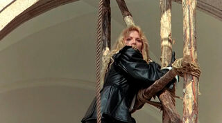 Justine de Winter (played by Kim Cattrall) The Return of the Musketeers 1036