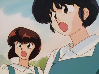 Hinako Ninomiya (voiced by Yumi Touma) Ranma 1-2 Oav 04 85