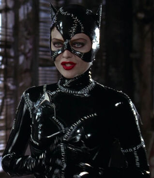Selina Kyle-Catwoman (played by Michelle Pfeiffer) Batman Returns