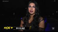 Billie Kay Backstage